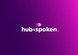 Hub & Spoken Logo